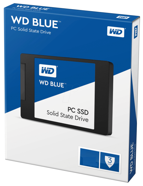WD SSD 500 GB (BLUE)
