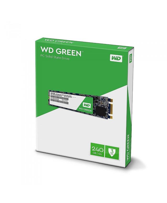 WD SSD 240 GB M.2 (GREEN)
