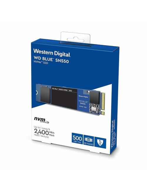 WD SSD 500GB NVME BLUE (SN550)