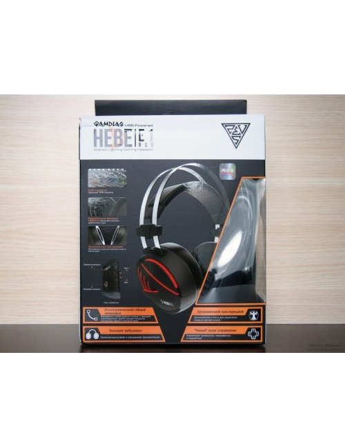GAMDIAS GAMING HEADSET HEBE E1-RGB