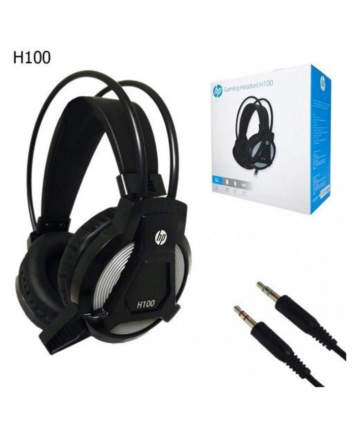HP WIRED GAMING HEADPHONE STEREO H100