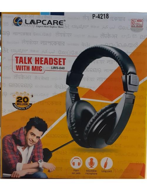 LAPCARE WIRED HEADPHONE LWS 040 (DUAL PIN)