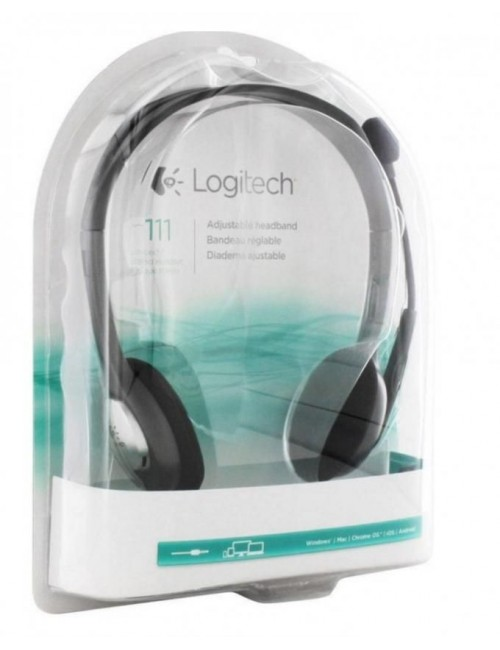 LOGITECH HEADPHONE H111