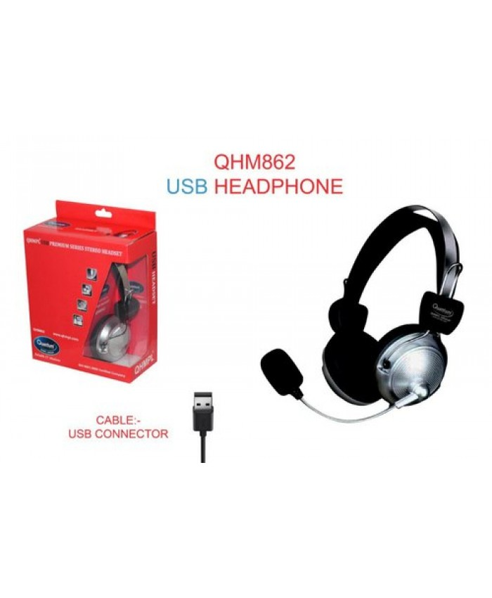 QUANTUM WIRED HEADPHONE QHM862 (USB)