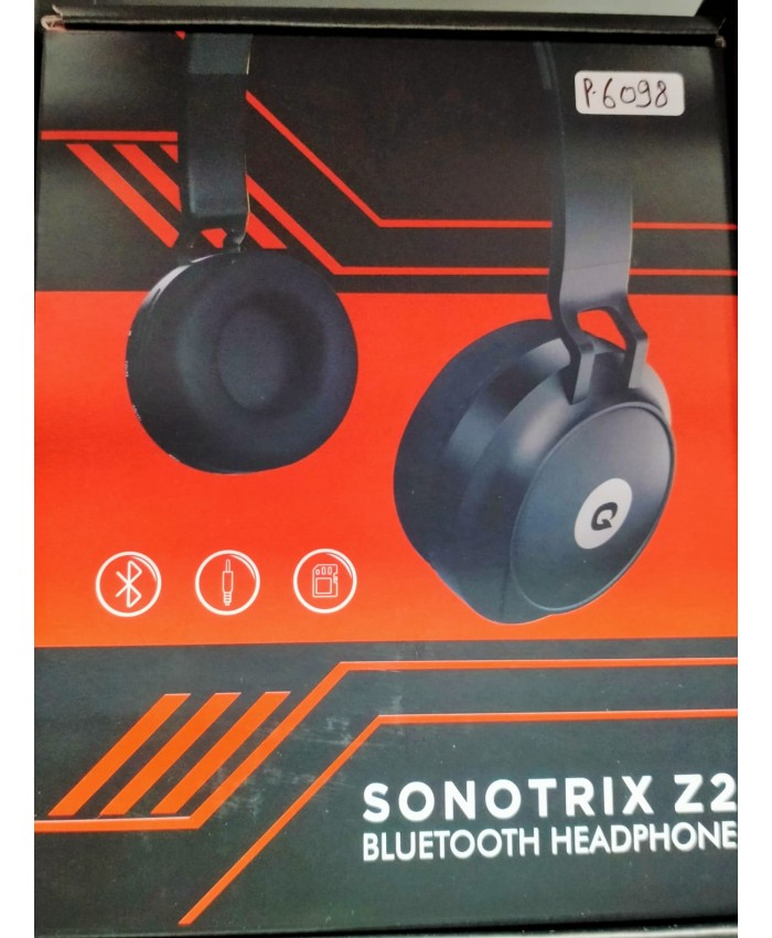 QUANTUM BLUETOOTH HEADPHONE  (SONO TRIX Z2)