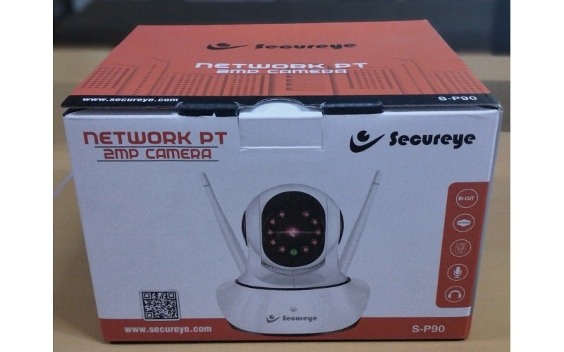 SECUREYE 2MP NETWORK WITH PT SP90