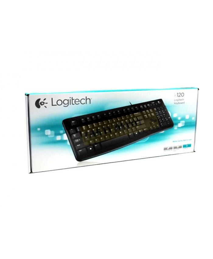 LOGITECH KEYBOARD USB K120 (BI-LINGUAL)
