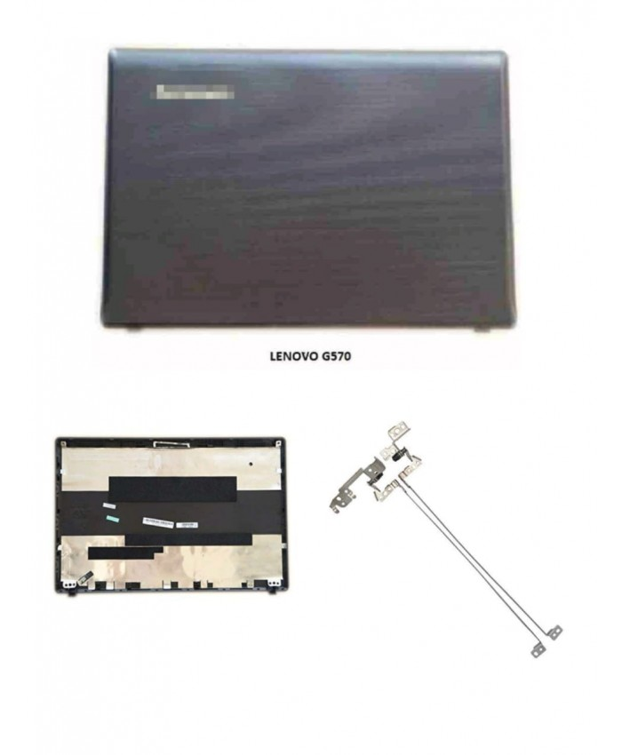 LAPTOP TOP PANEL FOR LENOVO G570 (WITH HINGE)
