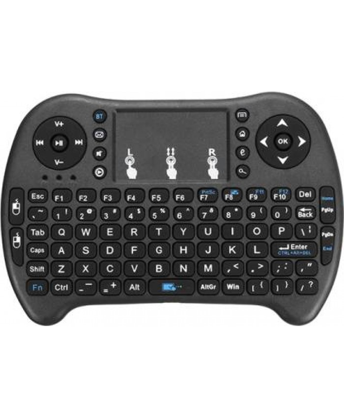 MINI KEYBOARD WIRELESS WITH TOUCH PAD AIR MOUSE (MULTI DEVICE)