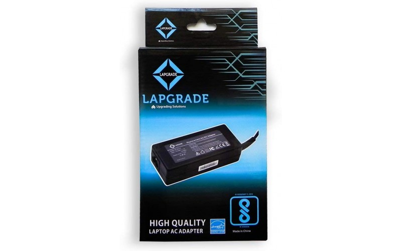 LAPGRADE LAPTOP ADAPTOR FOR DELL 90W 19.5V / 4.62A BIG PIN
