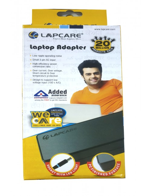 LAPCARE LAPTOP ADAPTOR FOR TOSHIBA 65W 19V 3.42A (1525)