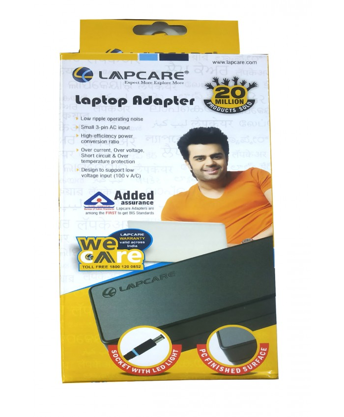 LAPCARE LAPTOP ADAPTOR FOR ACER 19.5V / 3.42A 65W (1518)