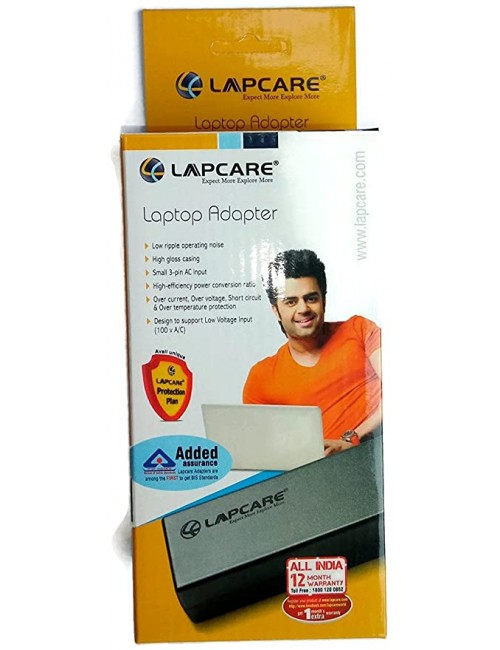 LAPCARE LAPTOP ADAPTOR FOR LENOVO 65W 20V 3.25A SMALL PIN (2107)