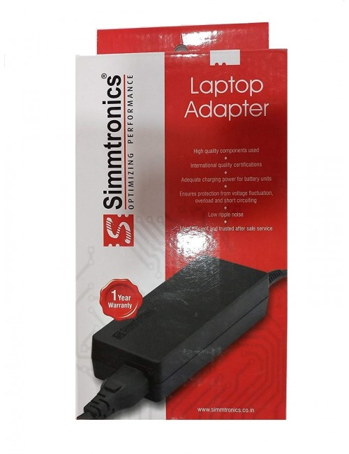 SIMMTRONICS LAPTOP ADAPTOR FOR DELL 65W 19.5V / 3.34A (SLIM PIN)