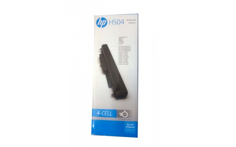 HP LAPTOP BATTERY BOX HS04 (4 CELL)