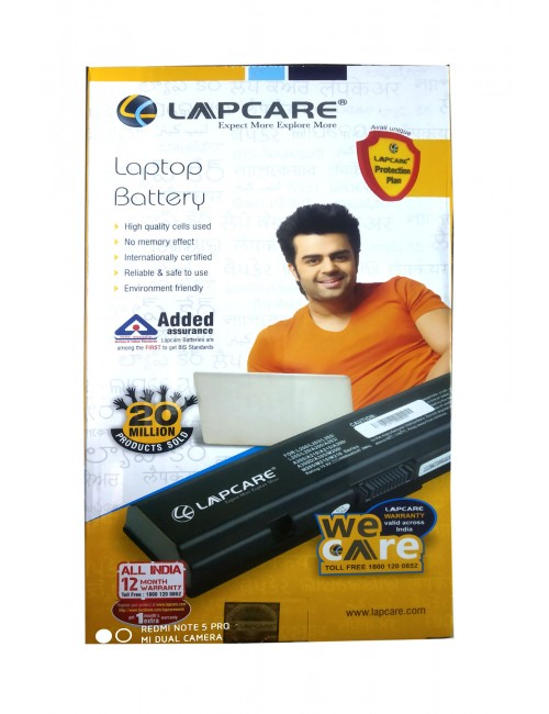 LAPCARE LAPTOP BATTERY FOR MU06, DM4, CQ42, DM4-1000, G72, G62