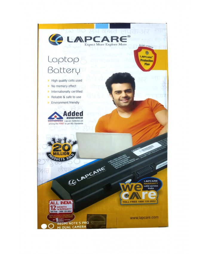LAPCARE 3521, 5521, XCMRD MR90Y LAPTOP BATTERY ( 6 CELL )