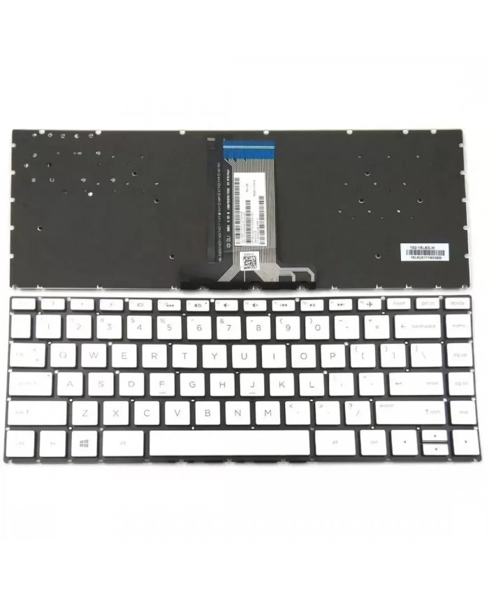 LAPTOP KEYBOARD FOR HP PAVILION 14-BS SILVER (WITH BACKLIT)