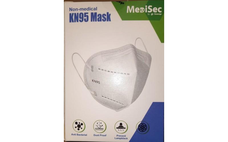 KN95 FACE MASKS MEDISEC NON MEDICAL (PACK OF 10)