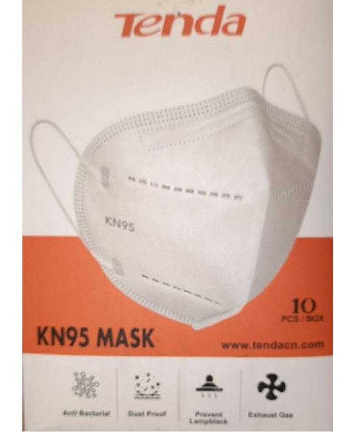 KN95 FACE MASKS TENDA NON MEDICAL (PACK OF 10)