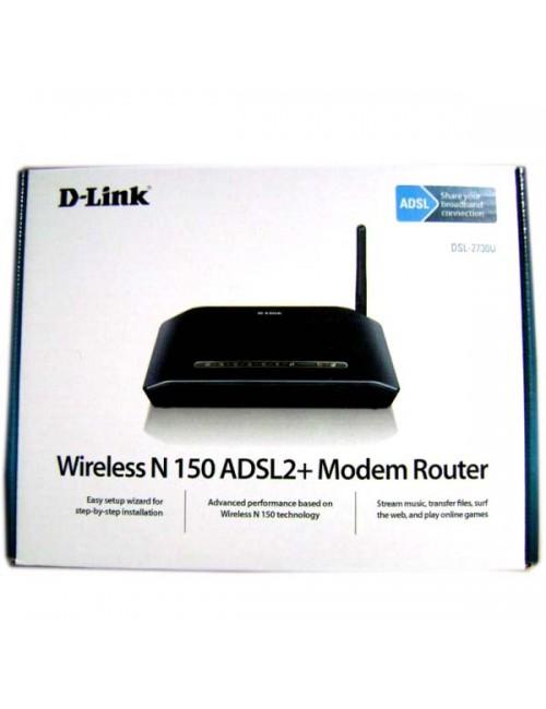 DLINK 150 MBPS MODEM + ROUTER 2730U