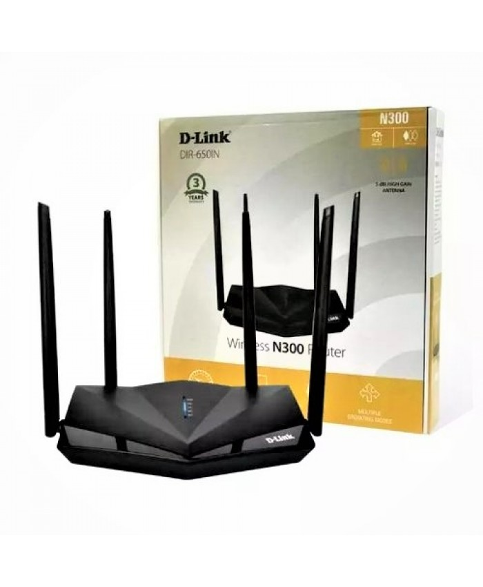 DLINK 300 MBPS WIRELESS ROUTER DIR 650IN