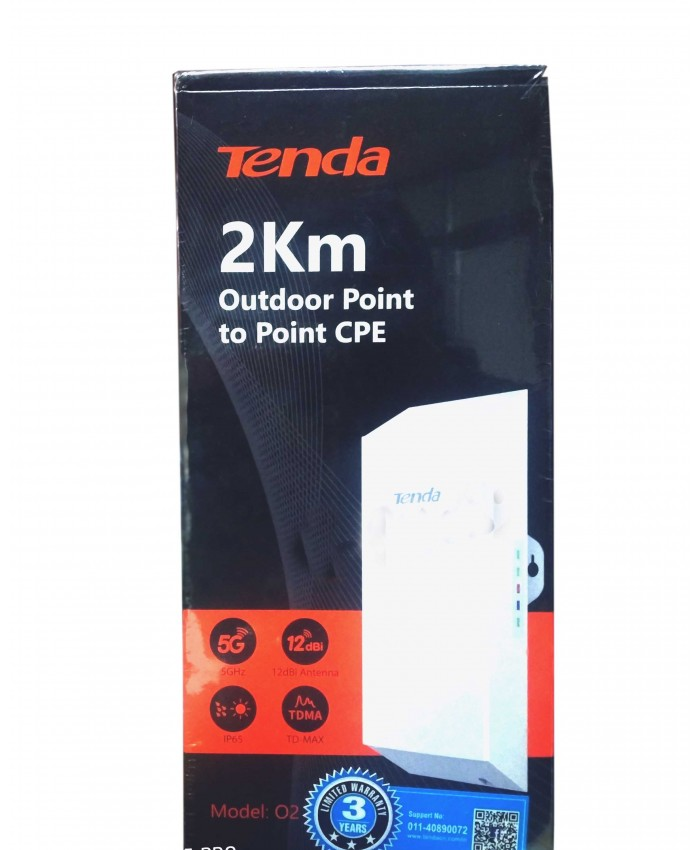 TENDA OUTDOOR ACCESS POINT TO POINT O2