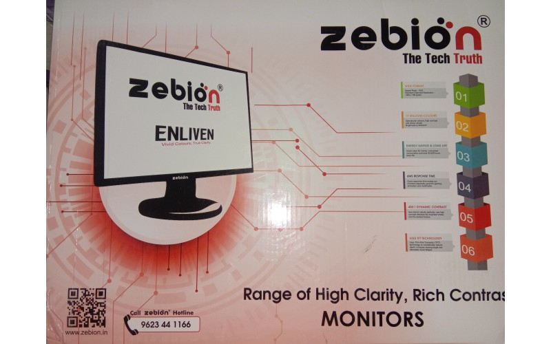 """ZEBION LED15""""  SPLAY (15.1) AV2 (VGA)"""