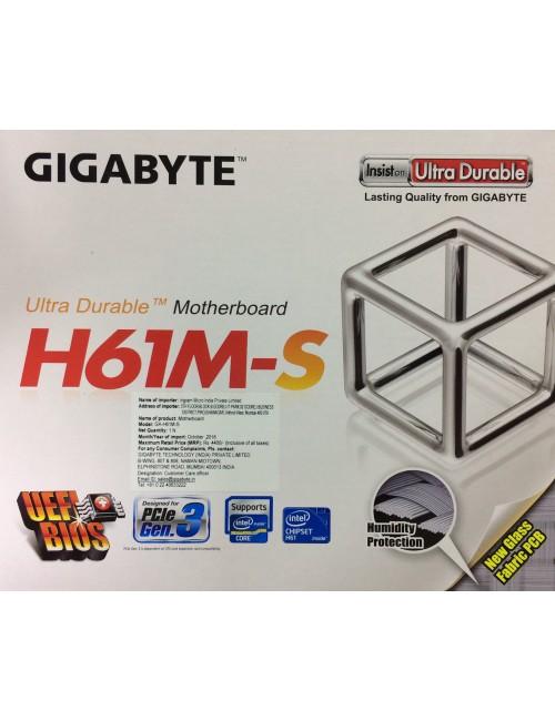 GIGABYTE MOTHERBOARD 61 (GA H61M S)