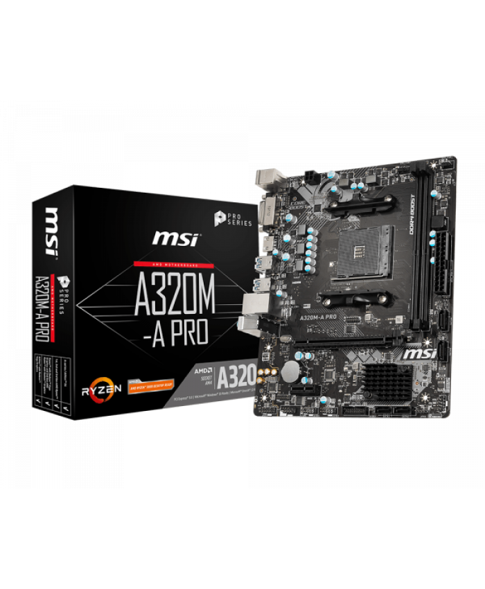MSI MOTHERBOARD 320 (A320M A PRO)