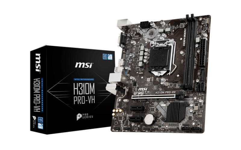 MSI MOTHERBOARD 310 (H310M PRO-VH)