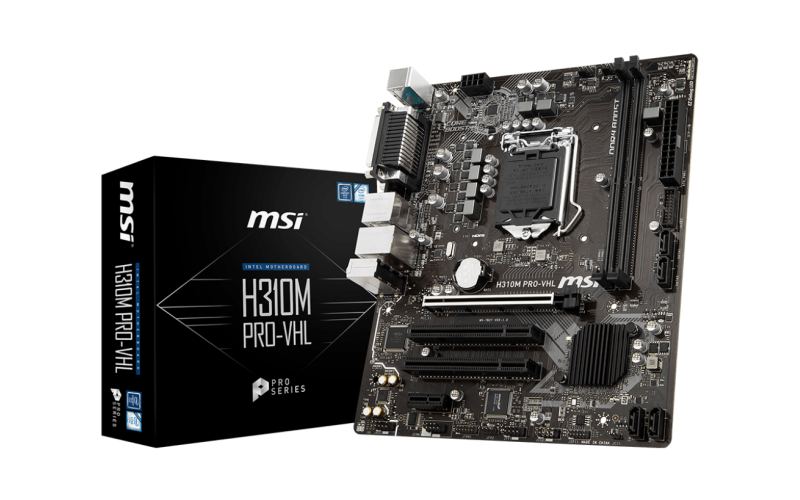MSI MOTHERBOARD 310 (H310M PRO-VHL)