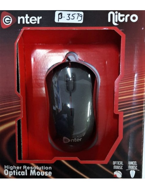 ENTER MOUSE USB NITRO|E-78CU