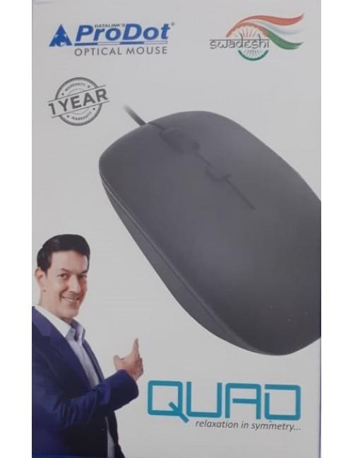 PRODOT MOUSE USB QUAD