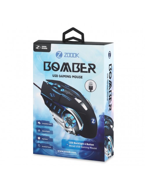 ZOOOK GAMING MOUSE (BOMBER) USB