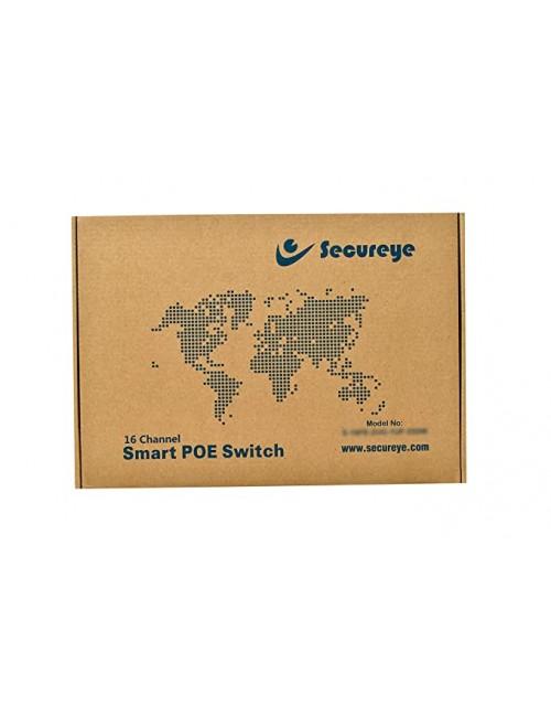SECUREYE POE SWITCH 16 PORT (16+2 UP-LINK GIGA) (S16FE 2UG)