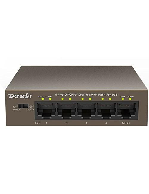 TENDA 5 PORT POE 1105P (4 POE + 1 NORMAL)