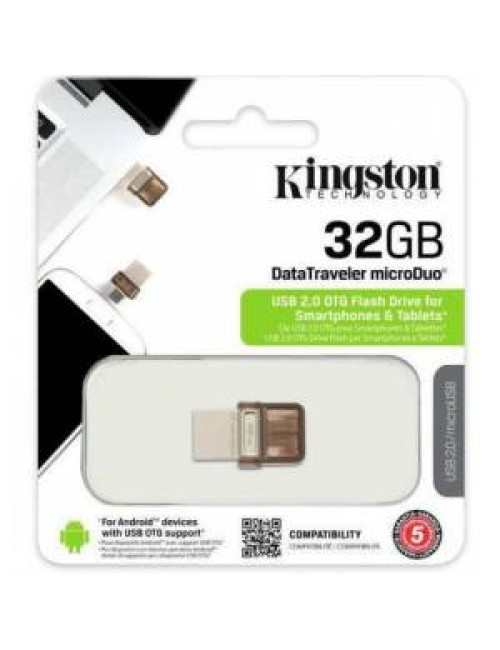 KINGSTON PENDRIVE 32 GB 2.0 OTG