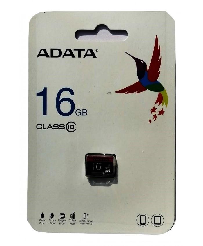 ADATA MICRO SD 16GB MEMORY C10 (1 YEAR)