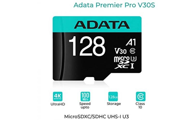 ADATA MICRO SD 128GB MEMORY CARD V30