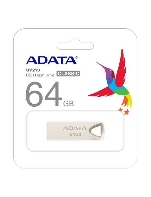ADATA PENDRIVE 64GB 2.0 METAL UV210