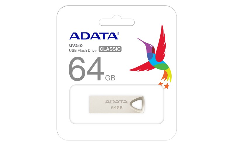 ADATA PENDRIVE 64GB 2.0 METAL UV210
