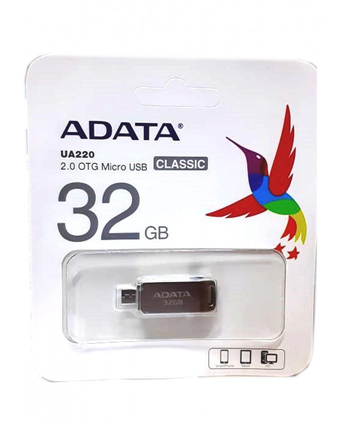 ADATA PENDRIVE 32GB 2.0 OTG (UA220)