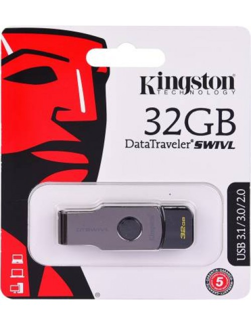 KINGSTON PENDRIVE 32GB 3.0 (SWIVL)