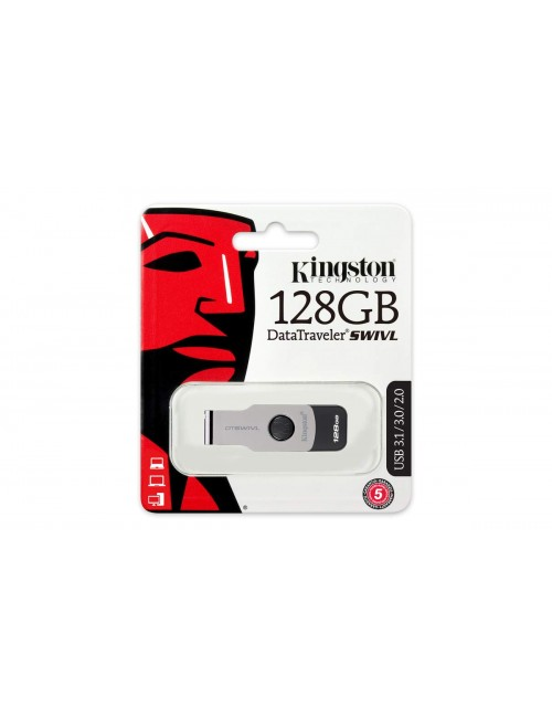 KINGSTON PENDRIVE 128GB 3.0 SWIVL