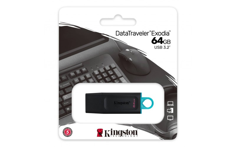 KINGSTON PENDRIVE 64GB 3.2 (DTX)