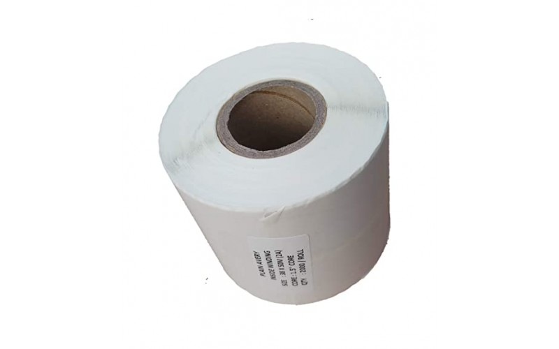 THERMAL BARCODE STICKER ROLL 50MMX38MM (2500 Label)