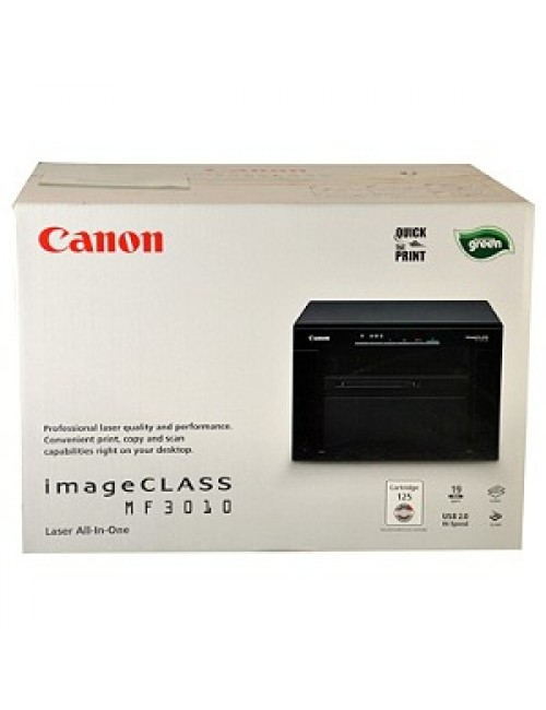 CANON MF3010 LASER PRINTER MULTIFUNCTION
