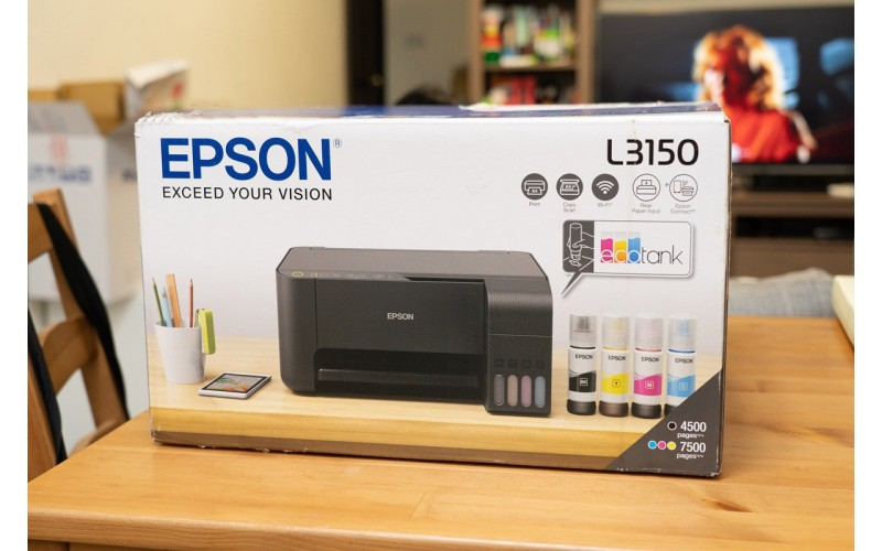 EPSON INK TANK PRINTER L3150 A4 MULTIFUNCTION