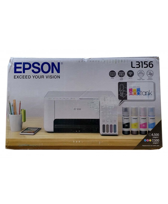 EPSON L3156 WIFI ALL IN ONE INK TANK PRINTER